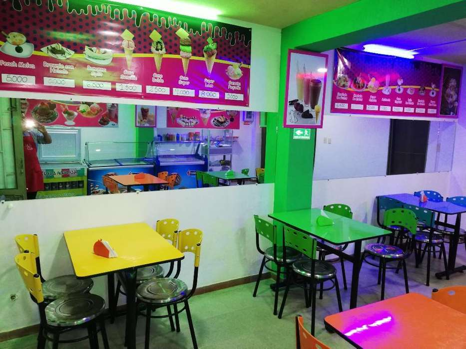Vendo Heladería Y Cafetería en Tocancipa