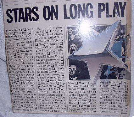 Disco de Vinilo Stars on Long Play Estrellas en 45