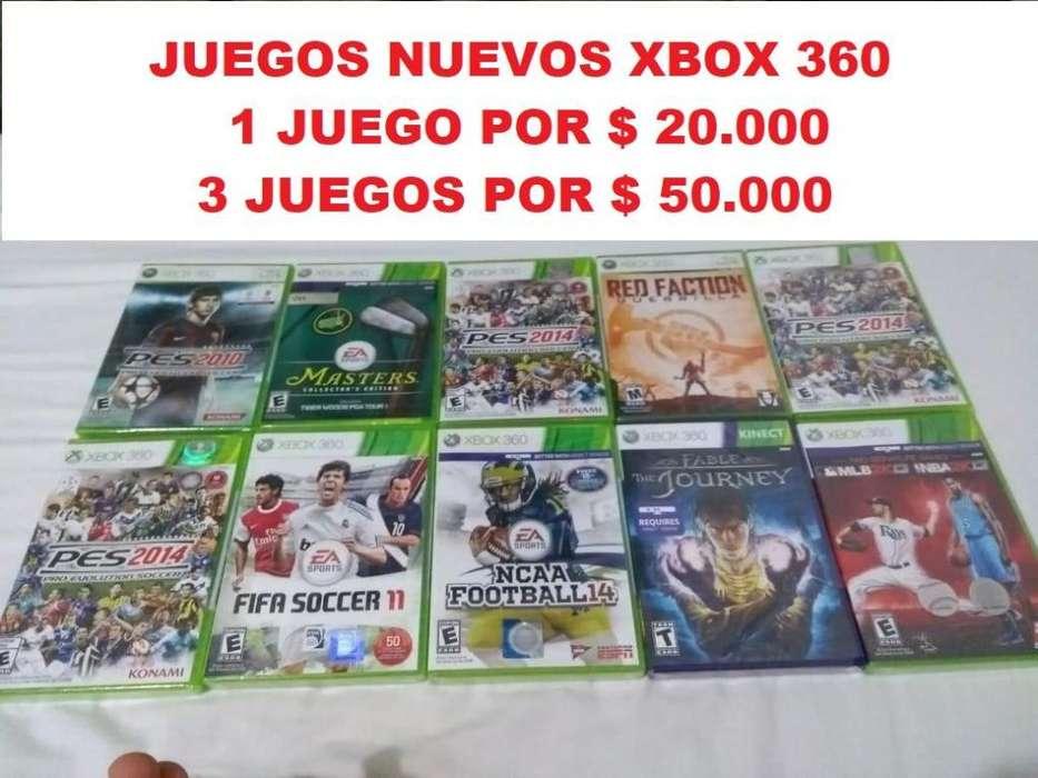 Juegos xbox 360 baratos, nuevos 20.000
