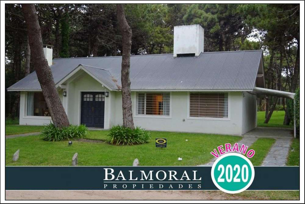 Ref: 8036 - Casa en Alquiler - Zona Norte Tennis Ranch - Pinamar