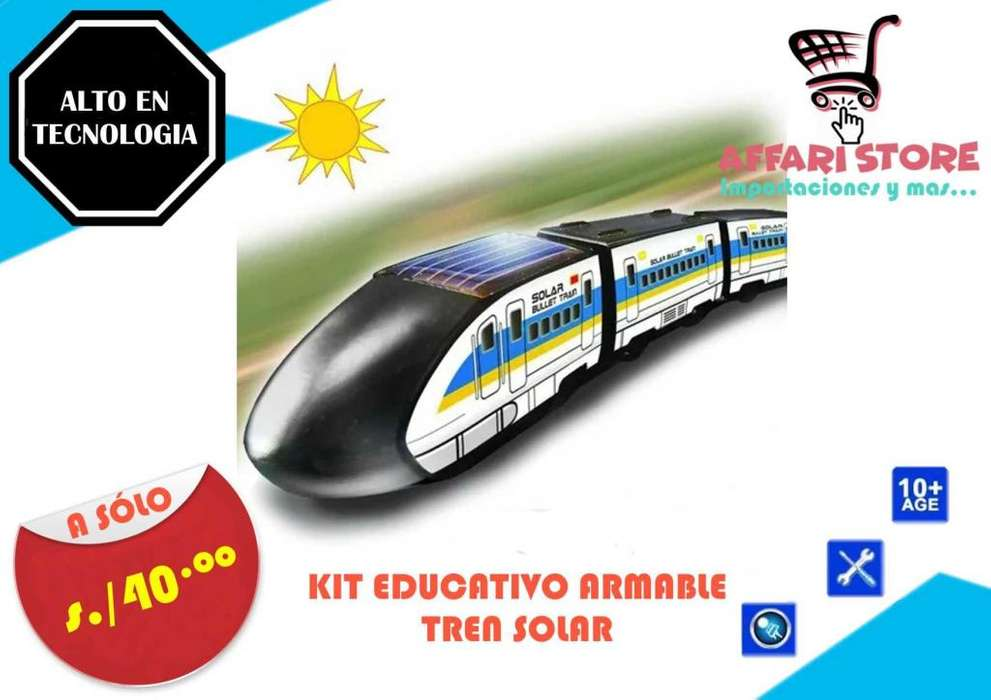 Kit Educativo Solar Tren Solar
