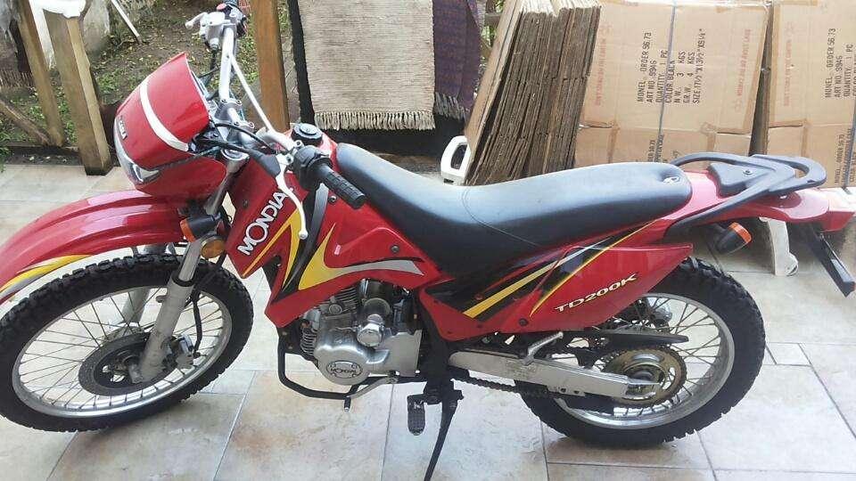 Moto Mondial Enduro TD 200 K