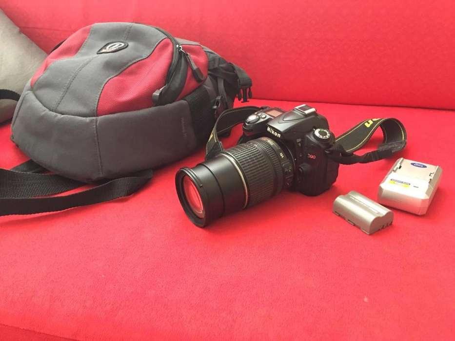 Camara Nikon D90 bolso