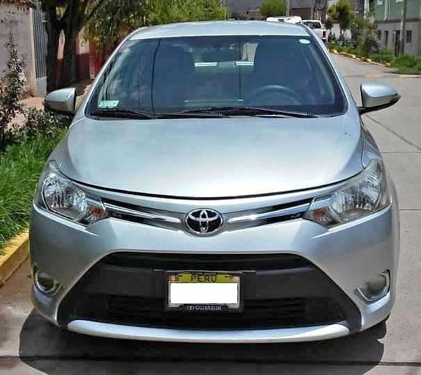Toyota Yaris 2014 - 120 km