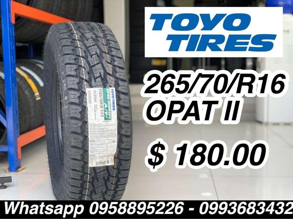 Llantas Toyo 265 70 R16