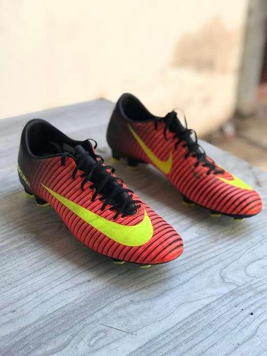 Botines Nike Mercurial Talle 40