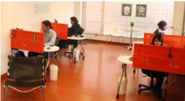 Muebles modulares para oficina 6 puestos