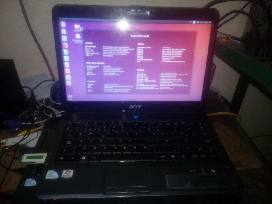 Vendo Notebook Acer Aspire