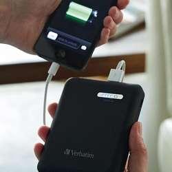 Bateria Ultra Portable Verbatim 12000mah Dual Usb Negro Mate GRATIS, __Tienda Centro Comercial__