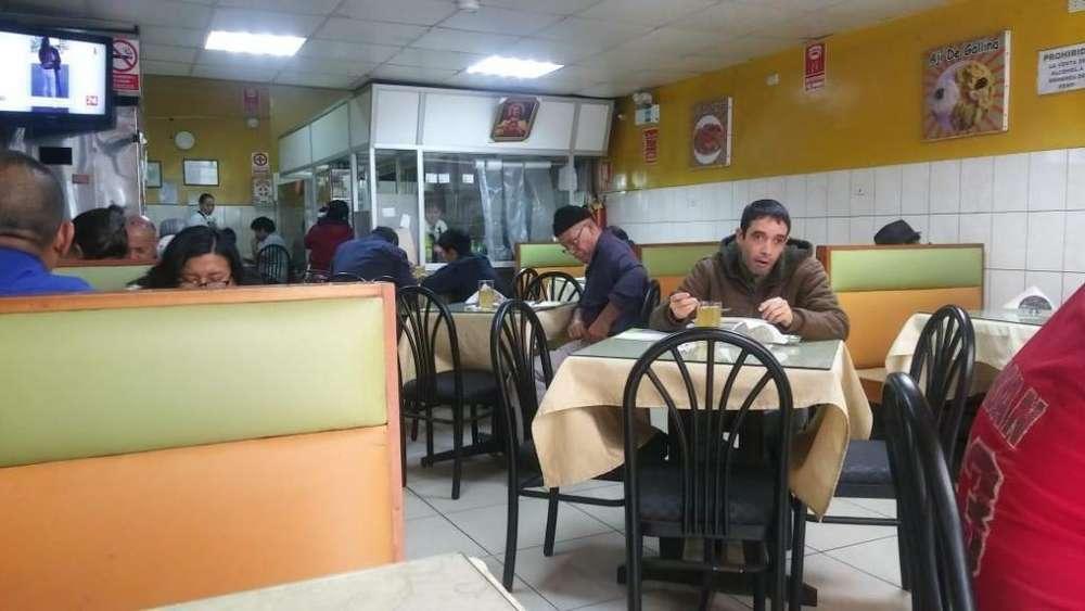 Traspaso de Restaurante Equipado