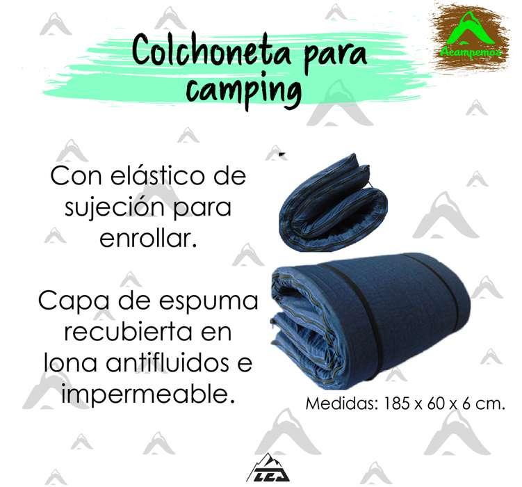 Colchonetas de espuma para camping