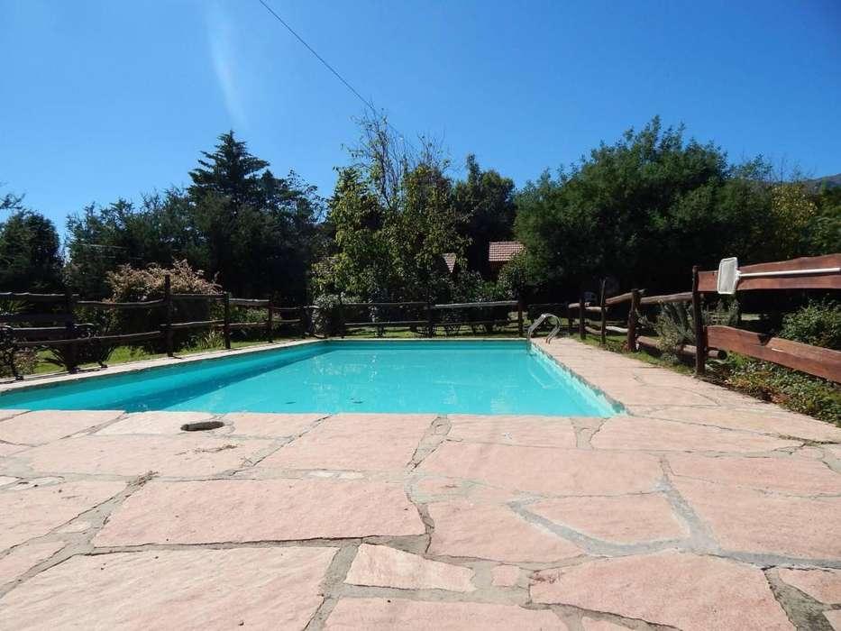 me07 - Cabaña para 2 a 5 personas con pileta y cochera en Villa De Merlo