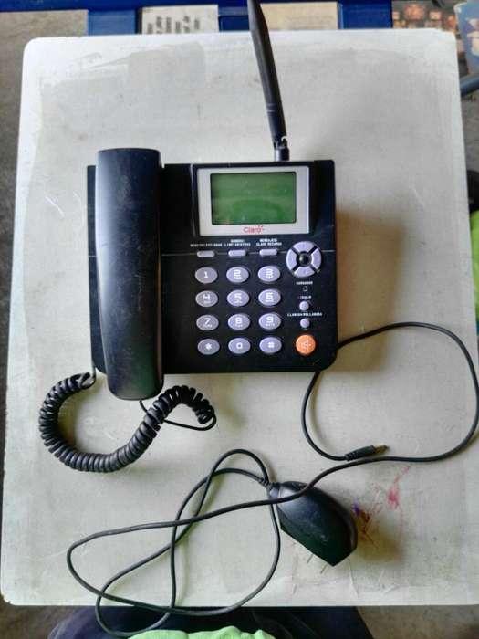 Telefono de Claro,funciona con Chip