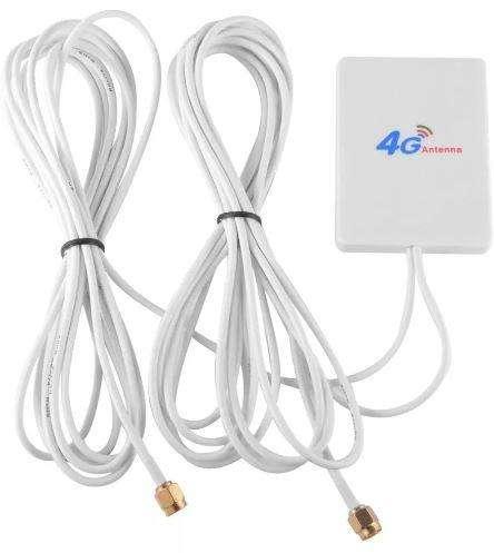 Antena Lte Sma Amplificador Señal 28dbi 4g 3g Router