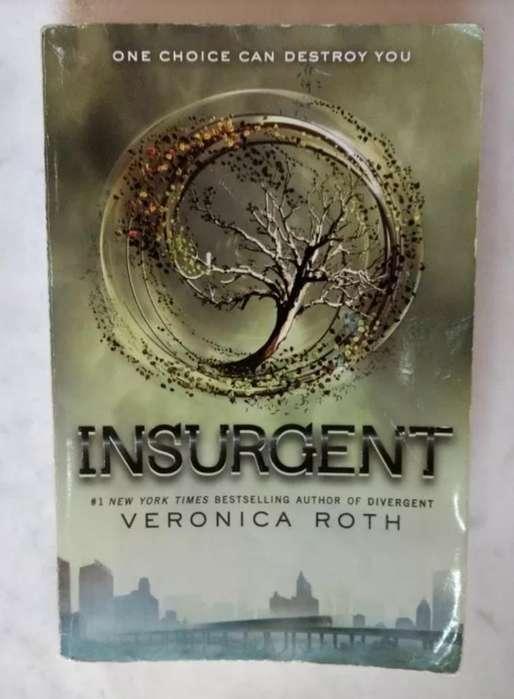 Libro Insurgent Saga Divergente Inglés