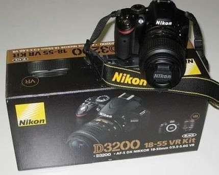 Camara Nikon D3200 Como Nueva Lente Nikon 18-140mm