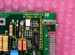 Módulo PLC Siemens Simatic S5 Typ: C98043A1352L2