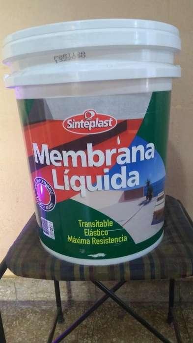 Membrana Líquida Sinteplast 20 Kg