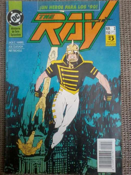 comics the ray historieta