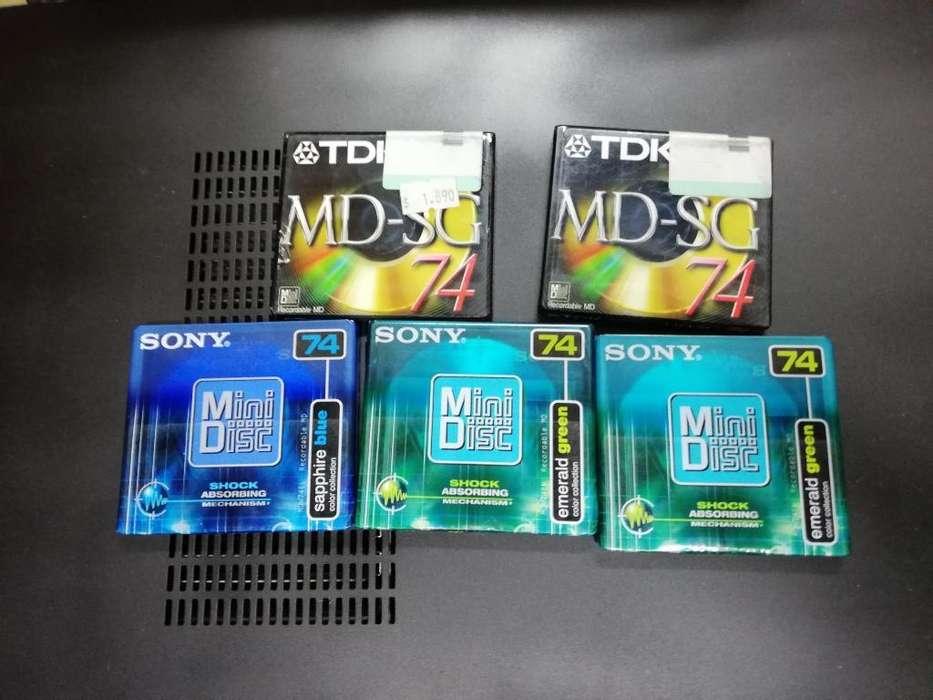 Mini Disc Nuevos Sellados