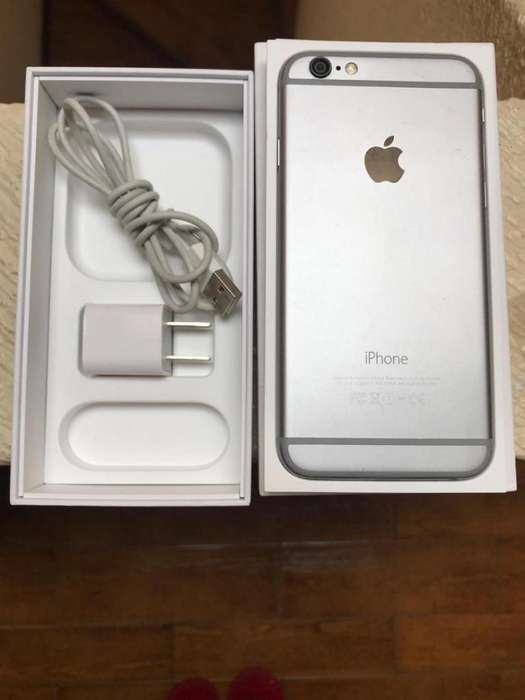 IPHONE 6 DE 32 GB GRIS ESPACIAL ESTADO 910