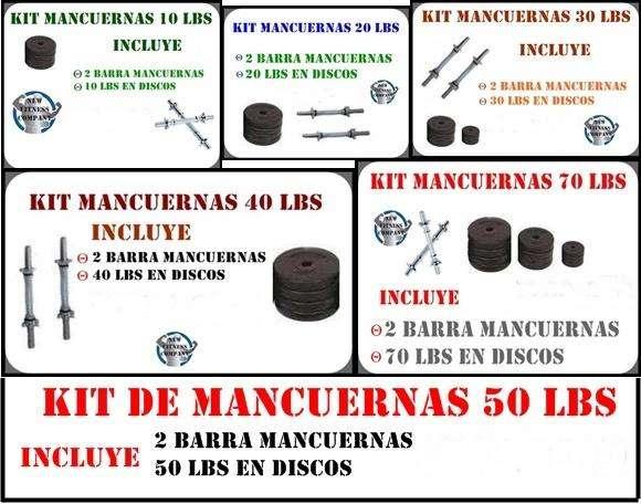 SUPER KITS DE MANCUERNAS EN PROMOCIÓN!!!