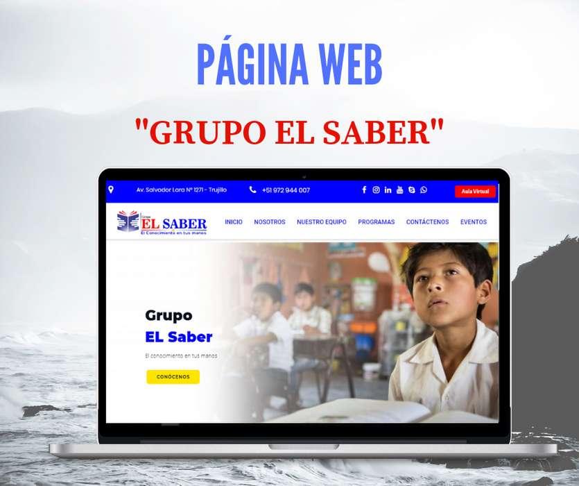 PÁGINA WEB, SISTEMA PARA EMPRESA O NEGOCIOS, AULA VIRTUAL, APLICACIÓN MOVIL,REDES SOCIALES, MARKETING