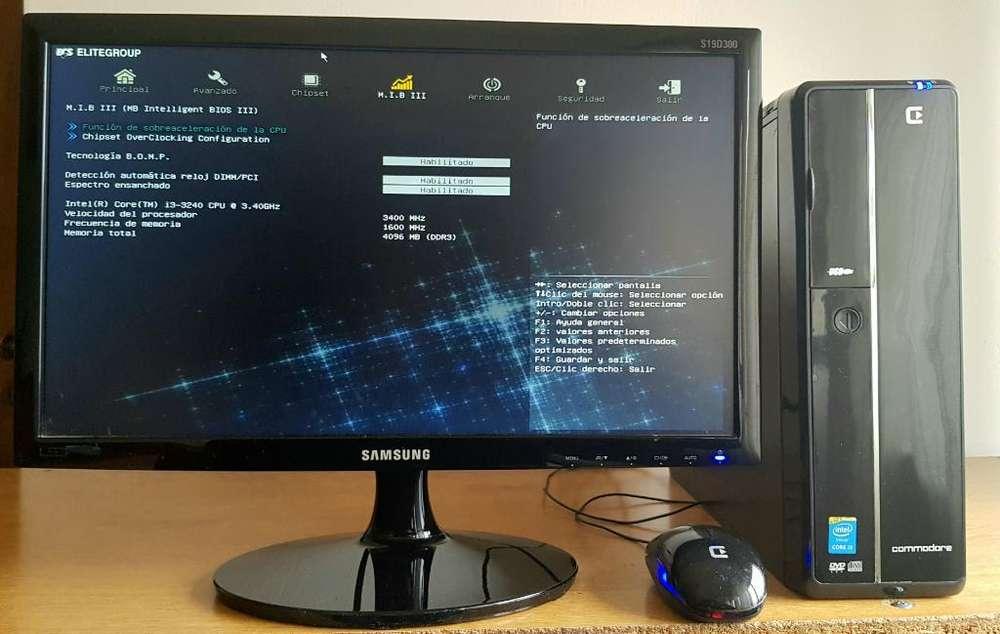 Pc Core I3 500gb 4 Gb Samsung Led Hdmi