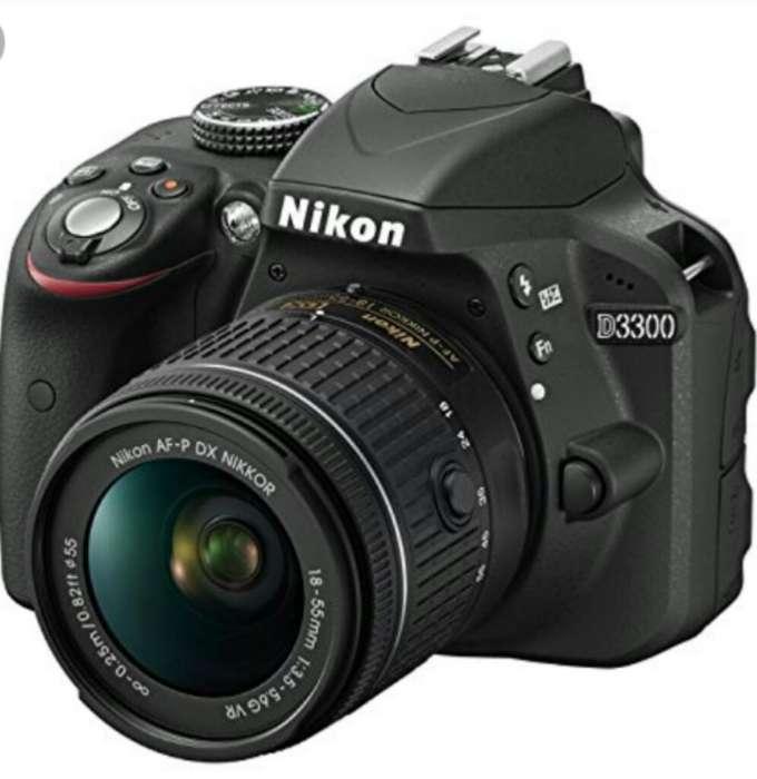 Nikon D3300,camara Profesional,2 Lentes