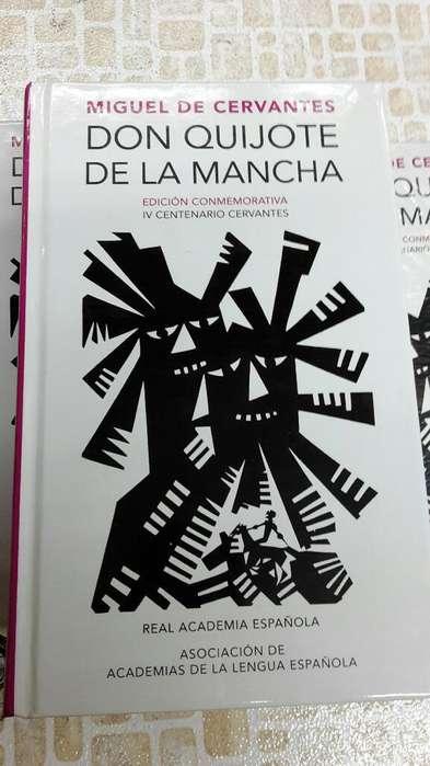 Don Quijote de La Mancha Edición Conmemorativa IV Centenario Cervantes Alfaguara Real Academia Española
