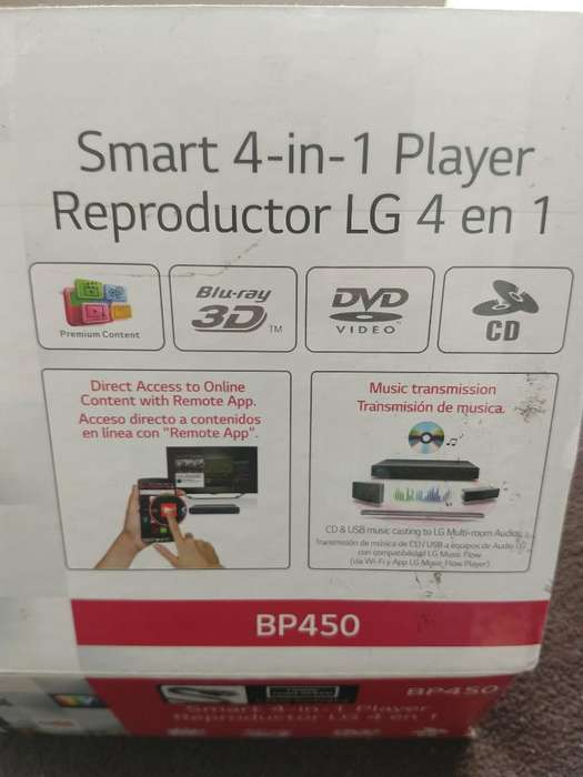 Reproductor Lg 4 en 1