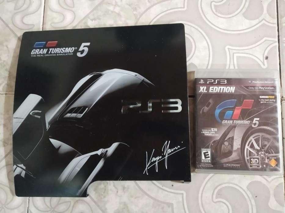 Gran Turismo 5 con Case para Play Slim