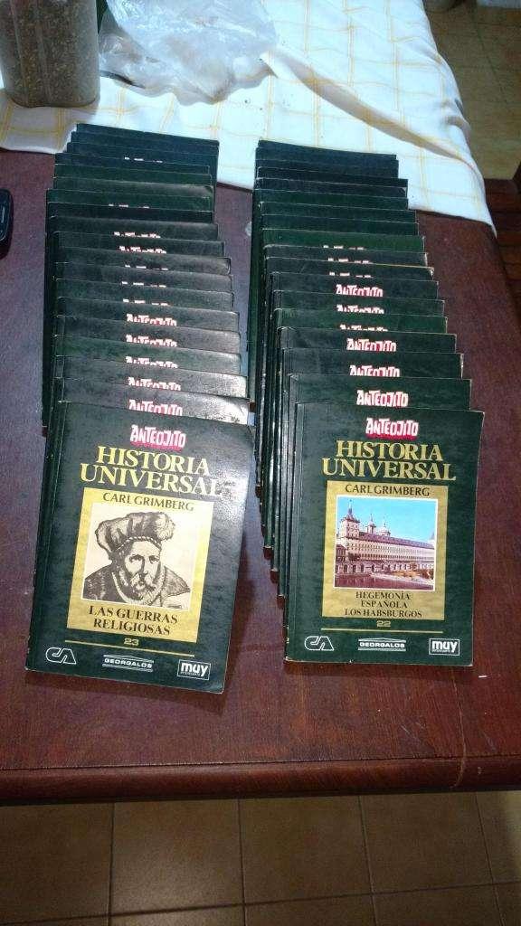 VENDO colección de Anteojito: Historia Universal de Carl Grimberg