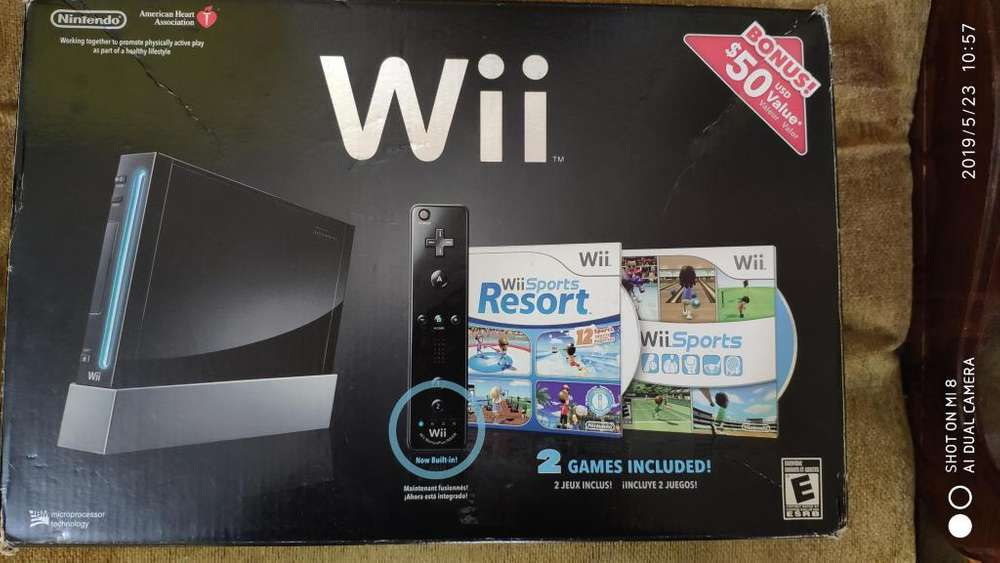 Nintendo Wii de Promoción