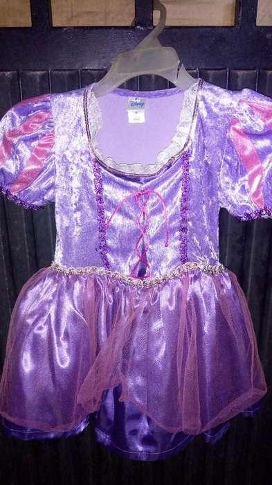 Vendo Disfraz Rapunzel Talla 6