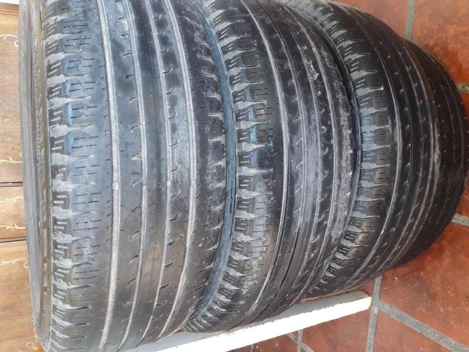 CUBIERTAS GOODYEAR 205-60-16 - 4 unidades- se vende el lote de las 4 cubiertas