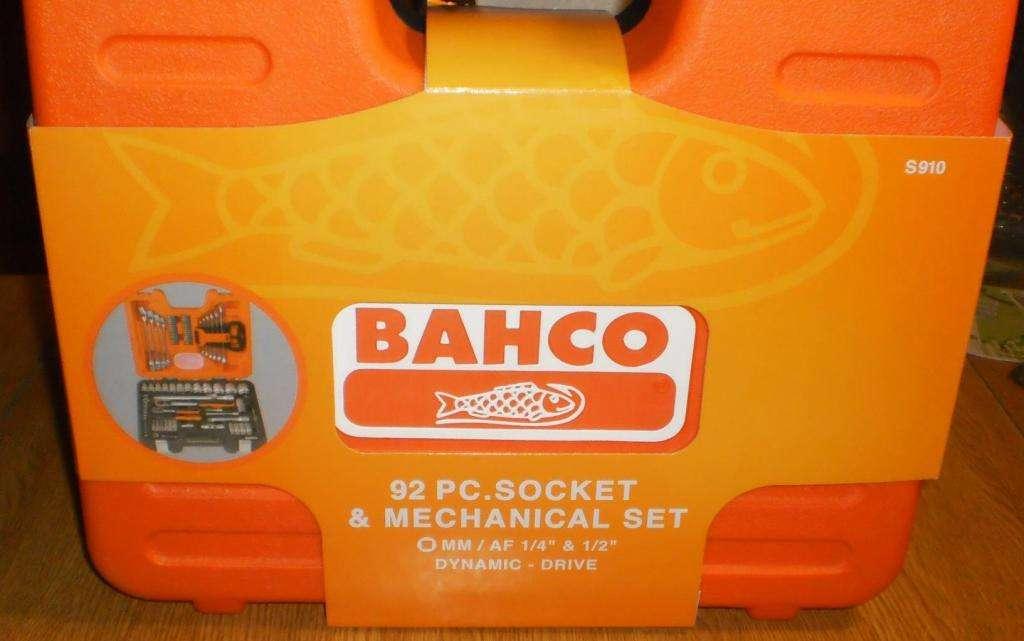 BAHCO 92 Pc.Socket & Mechanical set S910