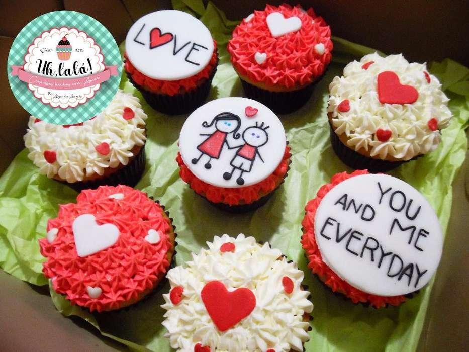 Cupcakes Personalizados X 6 Rellenos