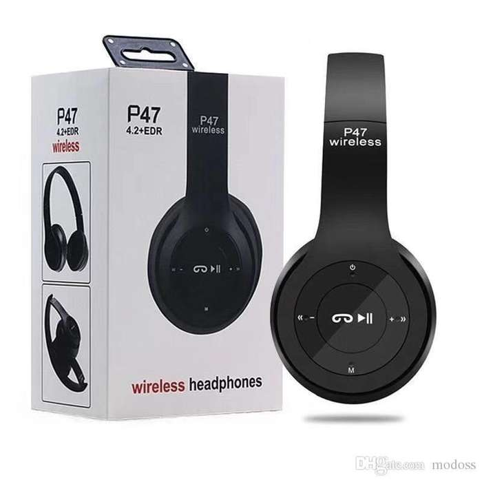 AURICULAR BT BEATS P47 BLUETOOTH SD Y <strong>mp3</strong> INALAMBRICO