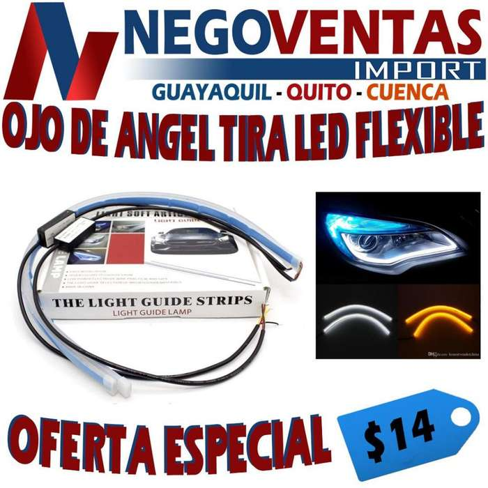 OJO DE ANGEL TIRA LED FLEXIBLE