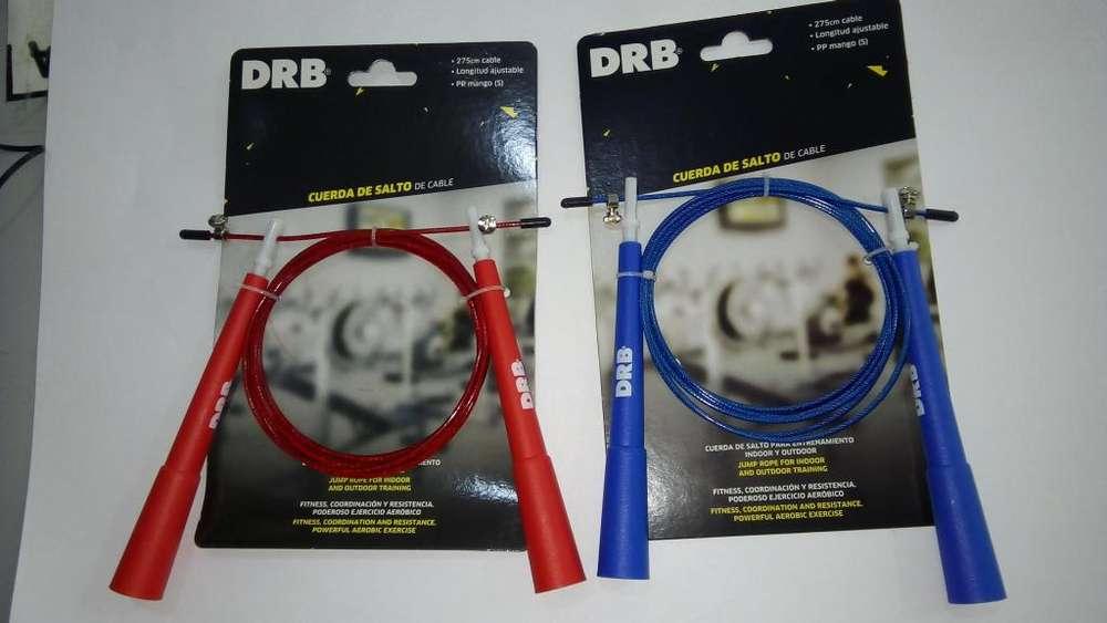 Soga para salto cable de acero con cabezal giratorio DRB