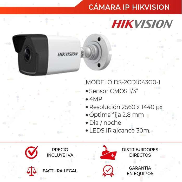 Cámara Ip Hikvision 4mp. Poe. Cctv. Nvr. <strong>video</strong> Vigilancia. Quito. Guayaquil