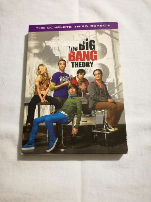 The big bang theory 3ra temporada original