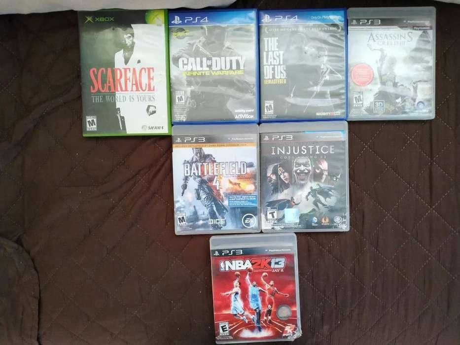 Juegos Xbox-ps3-ps4