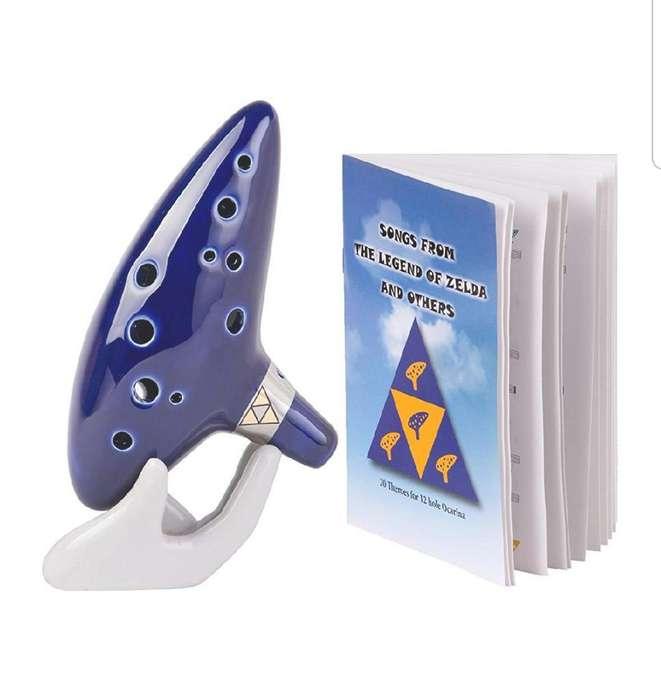Ocarina Legend Of Zelda de Cerámica