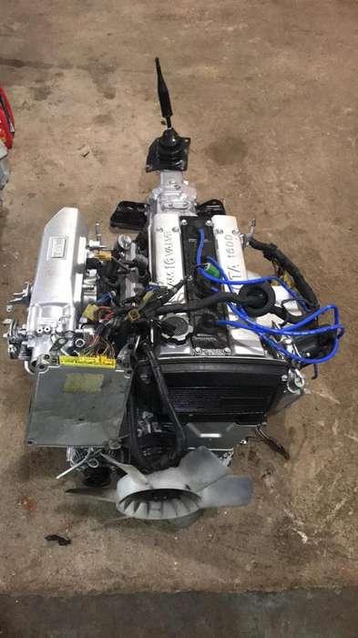 Motor Toyota 4a Ge Lineal Mecanico