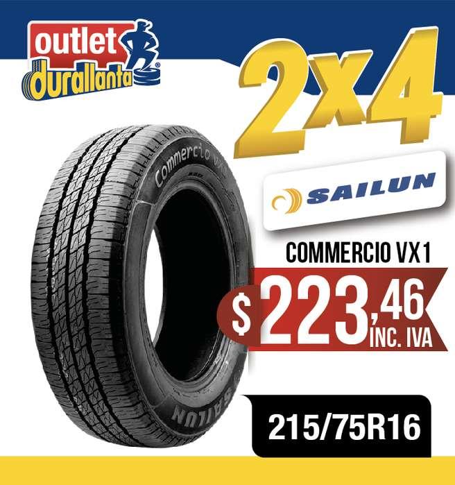 <strong>llantas</strong> 215/75R16 SAILUN COMMERCIO VX1 JUMPER TOANO JUMPY BOXER