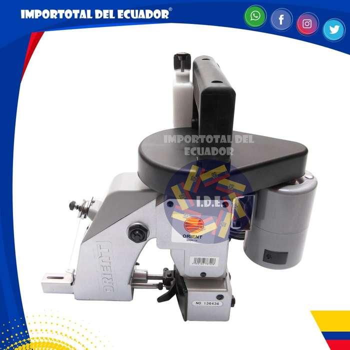 Máquina ''nueva'' cosedora / remalladora de sacos, costales, papel multi capa, etc. / Marca Orient / 110 voltios