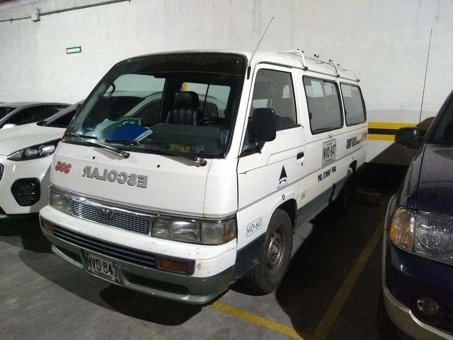 Camioneta Nissan Urvan Escolar Mod 96 Di