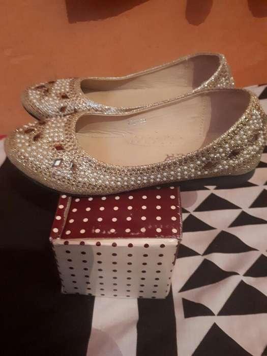 b57f56181  strong zapato  strong s de Nena Color Oro ...